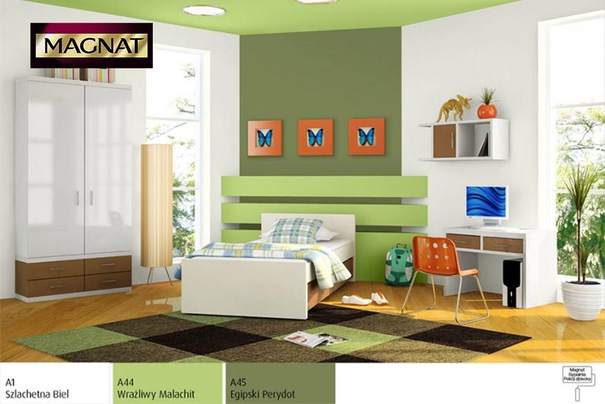 Pokój dziecięcy w zielonej odsłonie