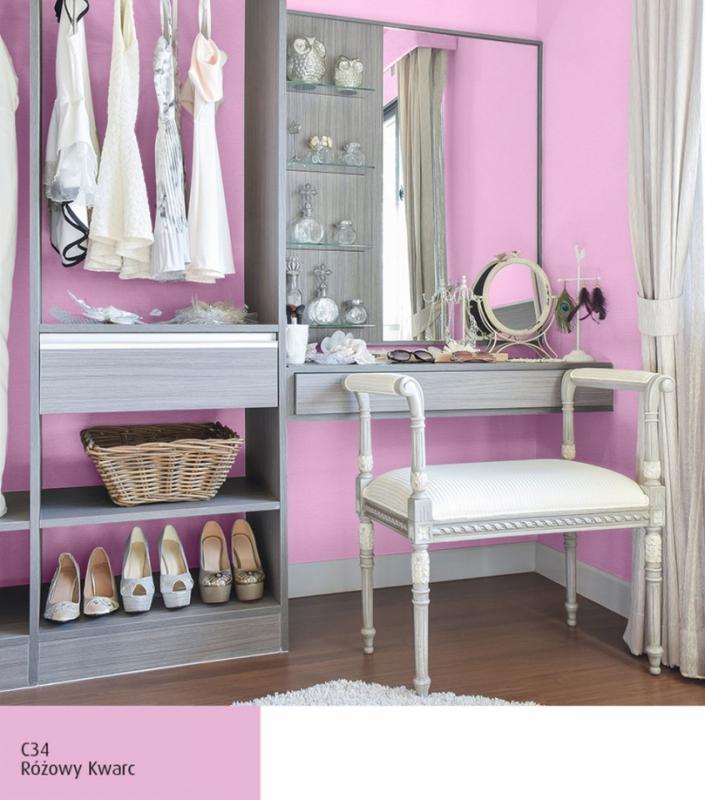 Kobieca garderoba, Różowy Kwarc C34 Magnat Ceramic